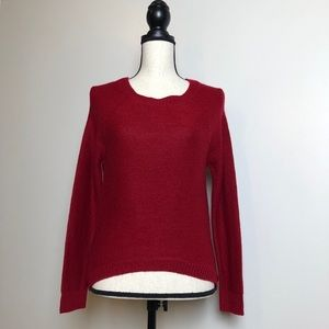 Tops - Red Sweater in Small